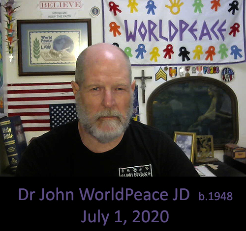 Dr John WorldPeace JD