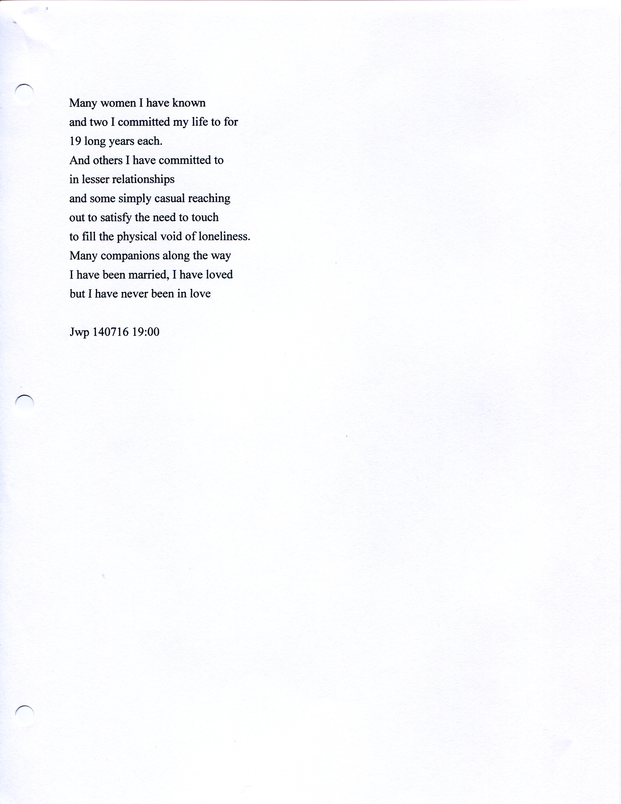 John WorldPeace Poems 2013