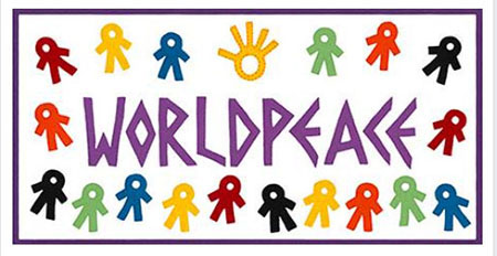 [THE WORLDPEACE BANNER]